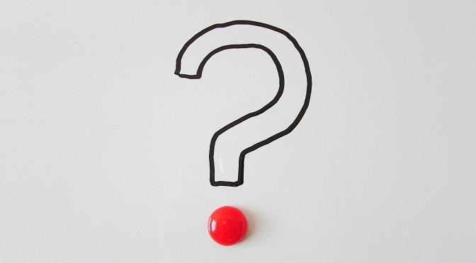 FAQ vraagteken