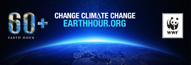 Earth Hour 2015 banner WWF