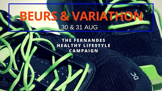 Fernandes Healthy Lifestyle Campaign Beurs & Variathon