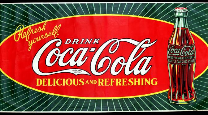 Coca-Cola bord 1928