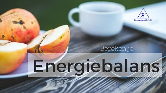 Bereken je energiebehoefte