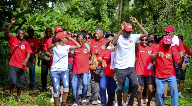 Jubileumviering Coca-Cola 75 jaar in Suriname