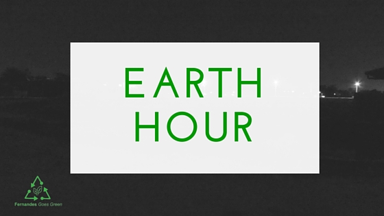 Earth Hour 2016 Fernandes Goes Green
