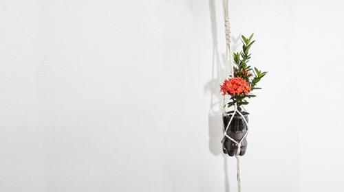 DIY planten hanger met lege PET flessen Fernandes Coca-Cola
