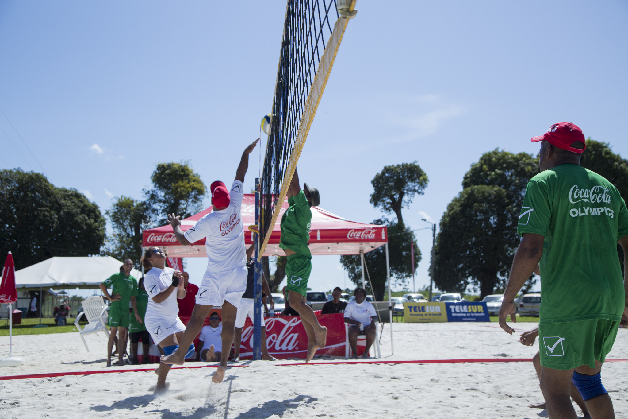 Finale beachvolleybal Fernandes Group Coca-Cola Olympics 2016