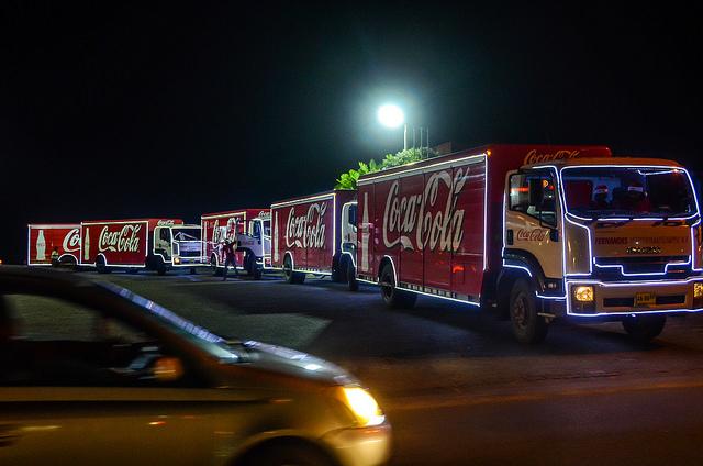 Coca-Cola Christmas Caravan 2016
