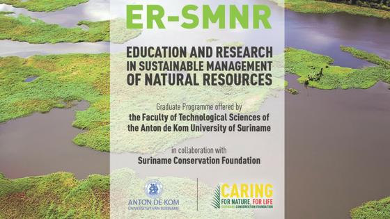 Ondersteuning Surinaams bedrijfsleven voor masterprogramma duurzaam beheer van natuurlijke hulpbronnen