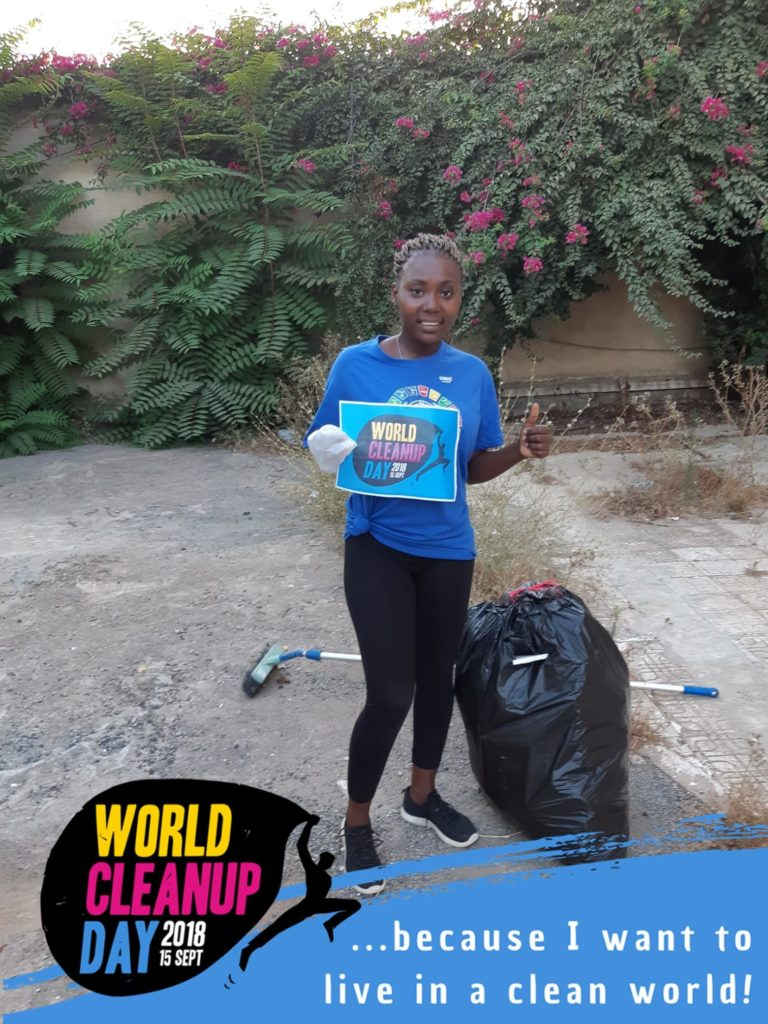 World Cleanup Day 2018 Fernandes Bottling sponsor