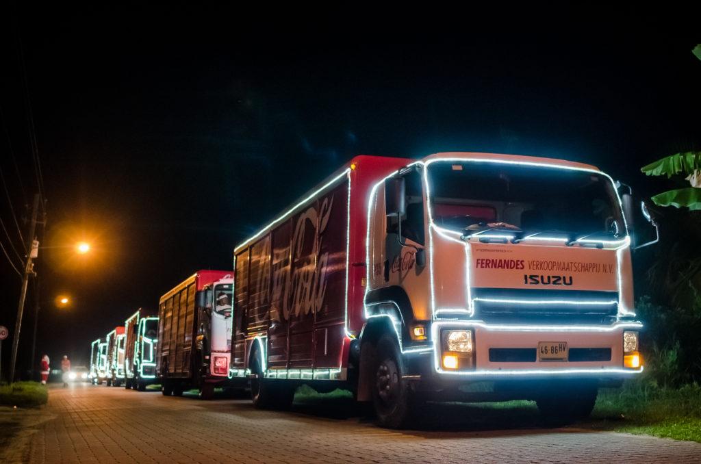 Coca-Cola Christmas Caravan Suriname
