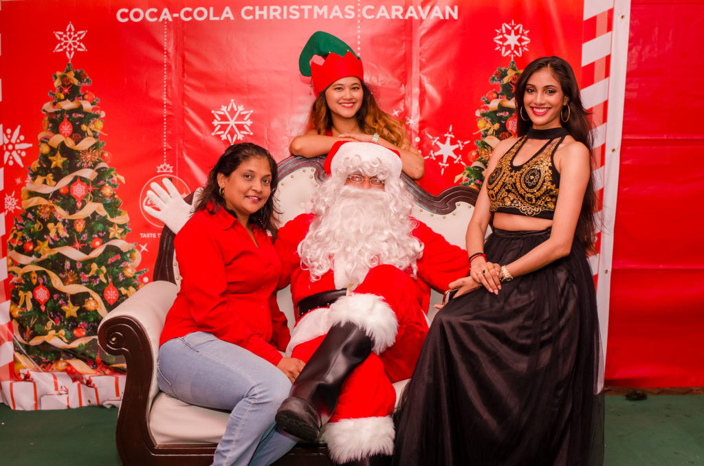 Coca-Cola Christmas Caravan Suriname Happiness Stop