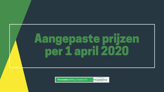Fernandes Bottling blog prijs 1 april